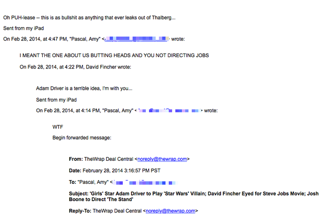 Leaked The Nightmare Email Drama Behind Sony S Steve Jobs