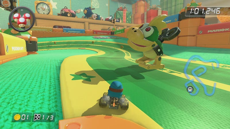 Illustration for article titled Mario Kart 8's New DLC Is Stuffed With Inside Jokes