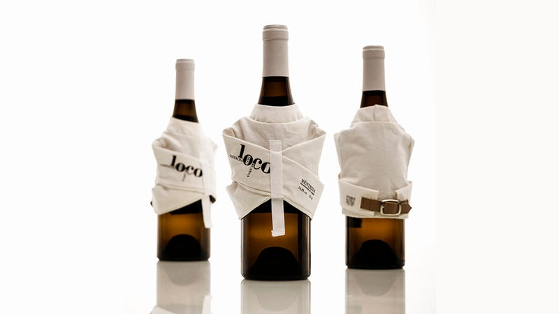 Illustration for article titled You'd Be Crazy Not to Buy This Straitjacketed Wine