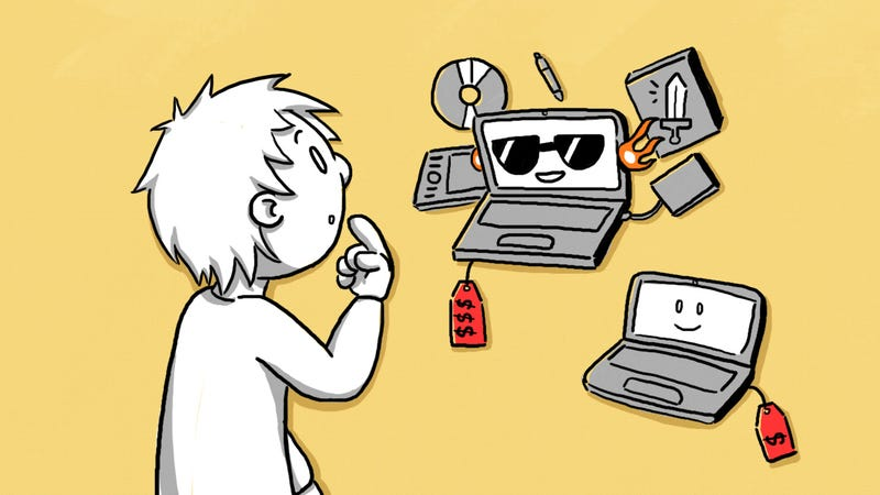 Illustration for article titled Focus on Your Daily Needs When Buying Electronics to Save Money