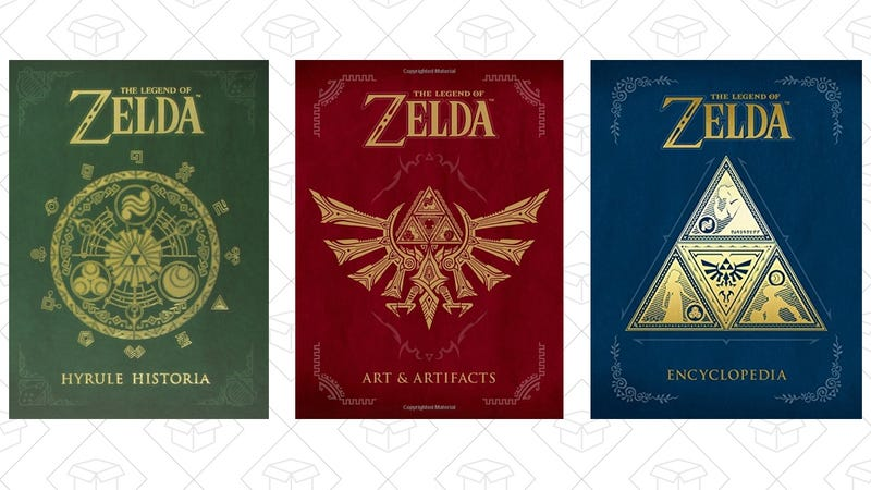 The Legend of Zelda: Hyrule Historia, $21The Legend of Zelda: Art & Artifacts, $24Preorder The Legend of Zelda Encyclopedia, $24