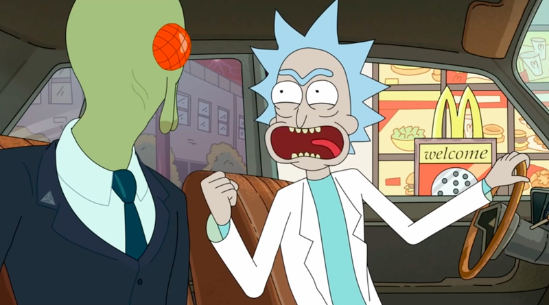 Rick and Morty are lovin' it as McDonald's brings back Szechuan Sauce