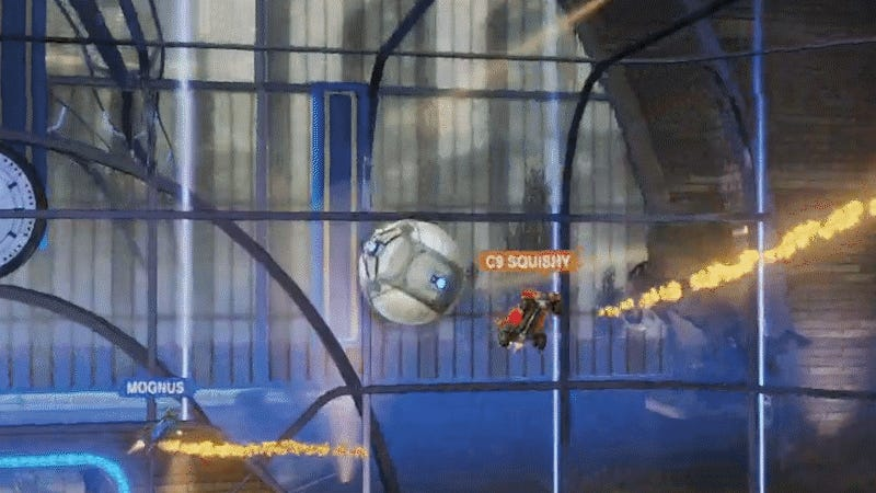Squishy Muffinz Car : Squishy  s Ceiling Golazo Might Be The Best Rocket League Play Ever ? Kopitiam Bot