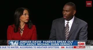 Lucia McBath and Ron Davis at CNN interviewYouTube