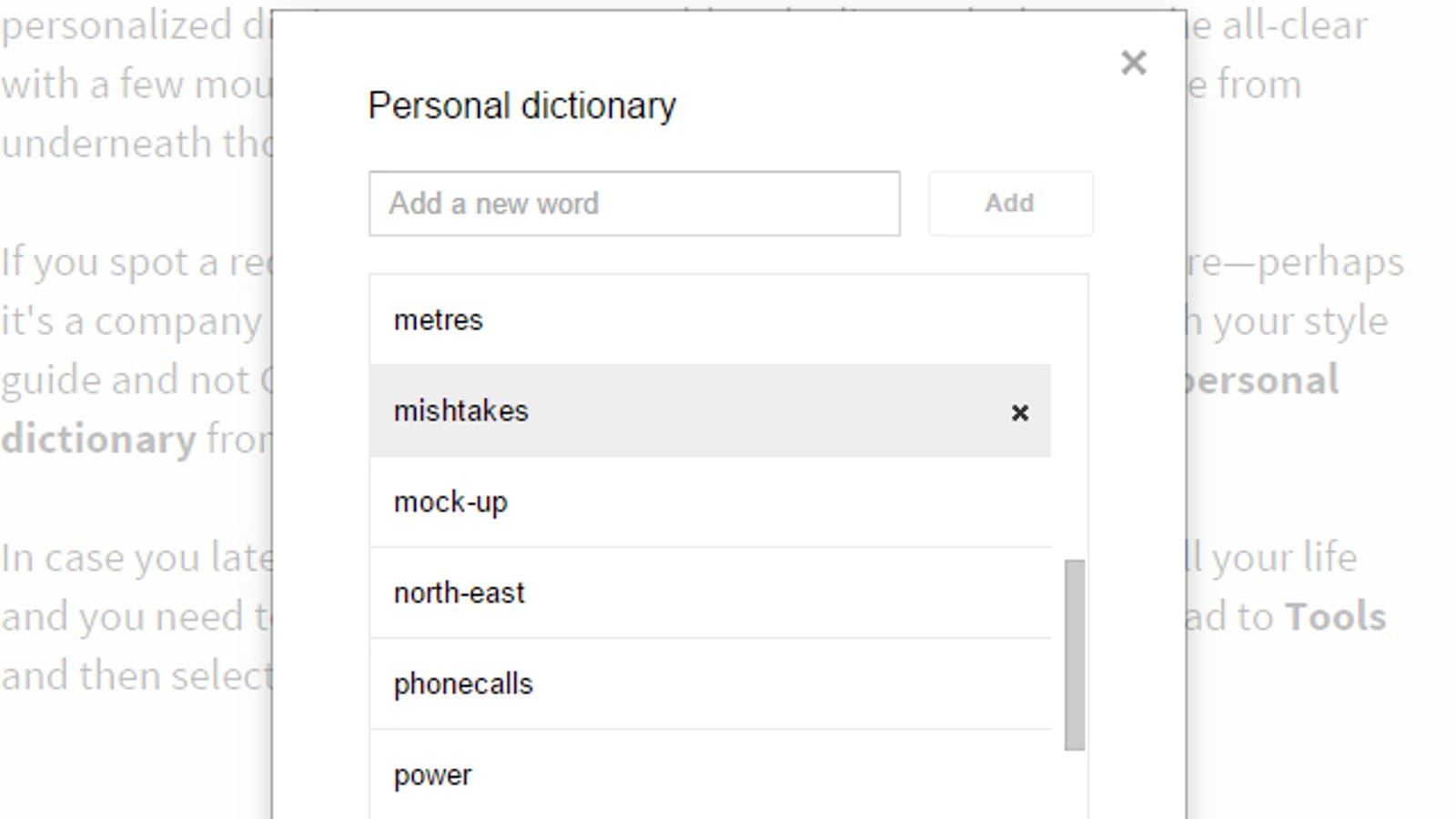 How to Add (and Remove) Words From Your Google Docs Spell