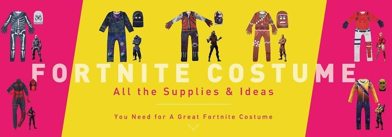 Illustration for article titled 10% Off Fortnite Costume for Kids