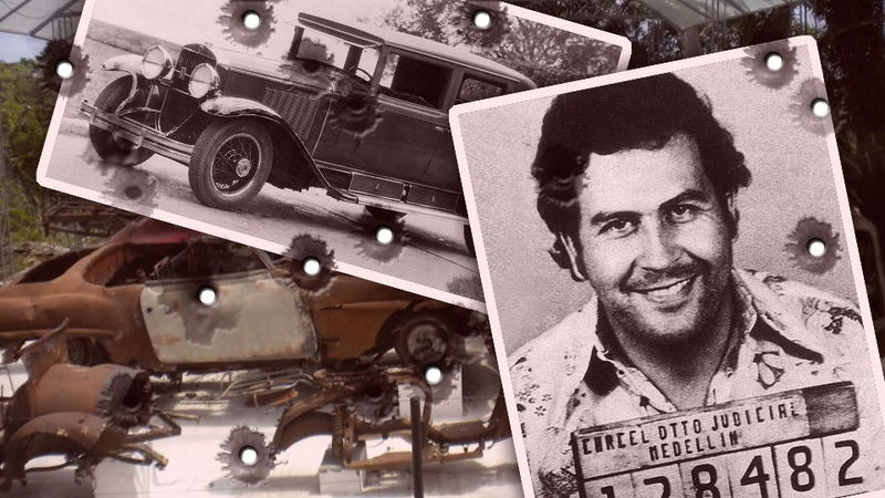Illustration for article titled He Shot Up His Cadillac To Be Like Al Capone: Inside Pablo Escobar's Strange Car Collection
