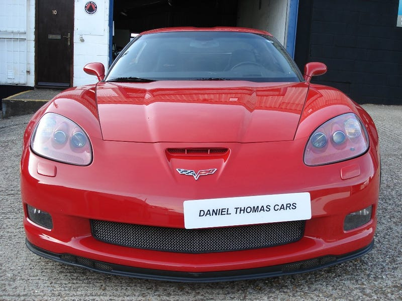 Illustration for article titled UK licence plates ruin the front of sports cars.