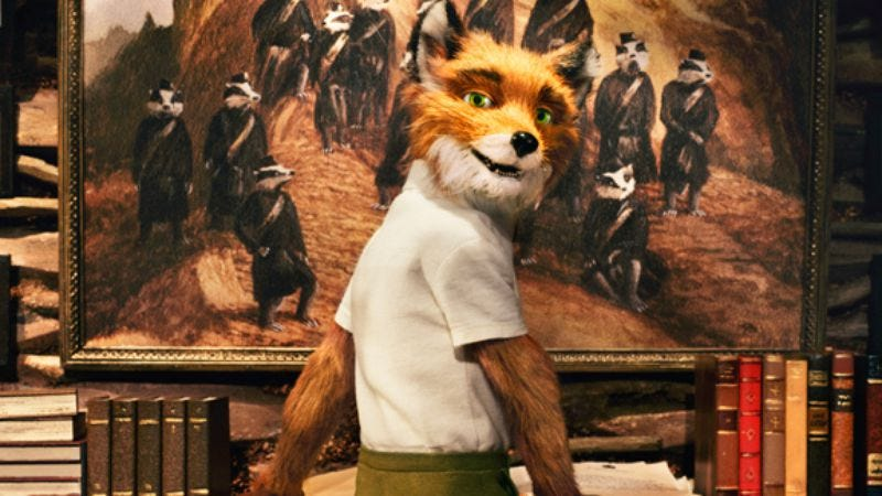 Illustration for article titled Fantastic Mr. Fox