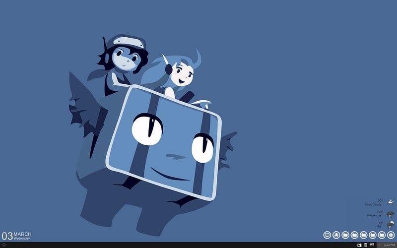 Illustration for article titled The Cave Story Desktop