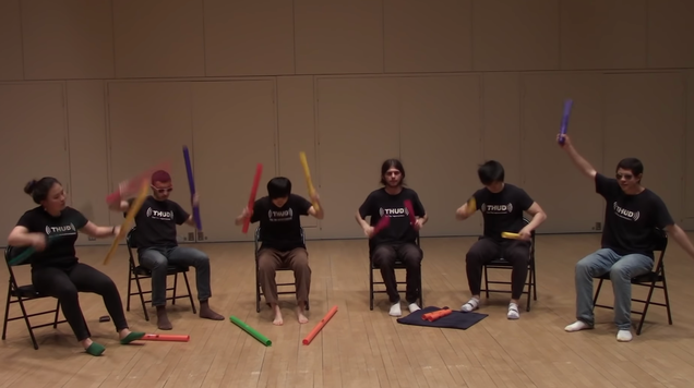 """Finally, a Boomwhacker cover of Darude's """"Sandstorm"""""""