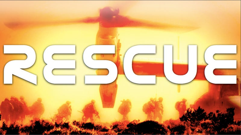 Illustration for article titled V-22 Osprey makes inaugural rescue in Libya