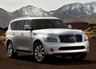 Illustration for article titled 2011 Infiniti QX: Everybody Point And Laugh
