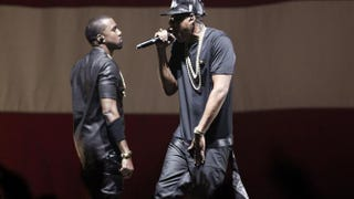 Kanye West and Jay Z perform in Paris on June 1, 2012.GUILLAUME BAPTISTE/AFP/GettyImages