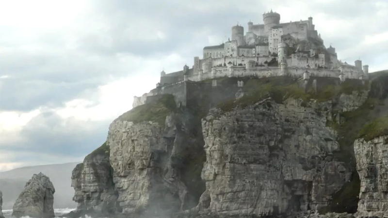 Casterly Rock is under new management. Well, old, given it's a prequel.
