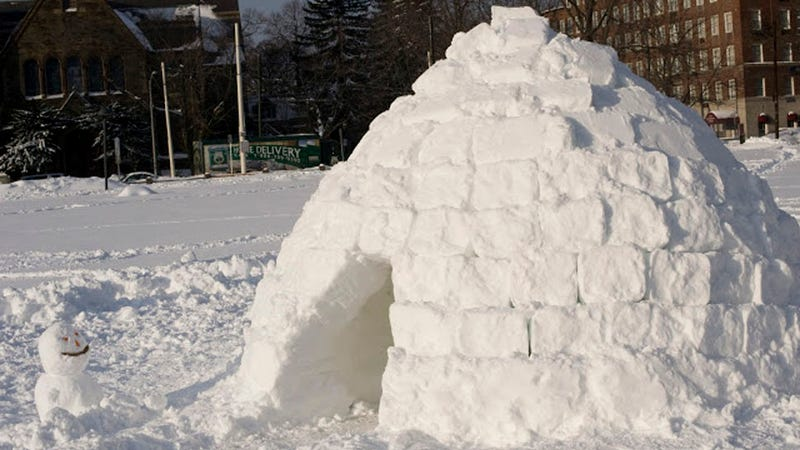 Illustration for article titled Forget Frosty: Here's How To Make Your Very Own Urban Igloo