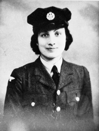 Illustration for article titled Noor Inayat Khan: the Muslim WWII hero you've never heard of.