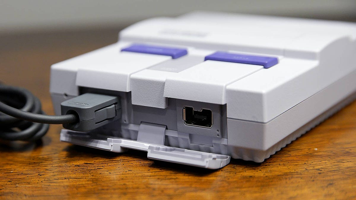 SNES Classic Is the Best Way to Experience Nintendo's Golden