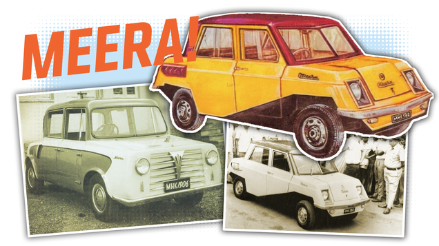 Before the Tata Nano There Was the Meera, India s First Cheapest Car