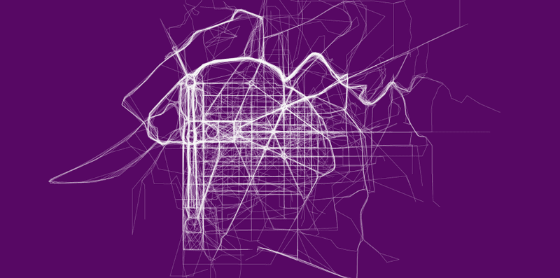 Illustration for article titled Beautiful Maps Reveal Where People Run In 22 Major Cities