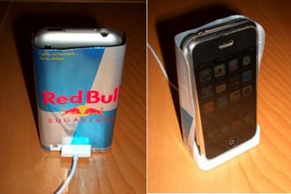 Illustration for article titled Build Your Own iPhone Anti-Interference Shield With a Can of Red Bull