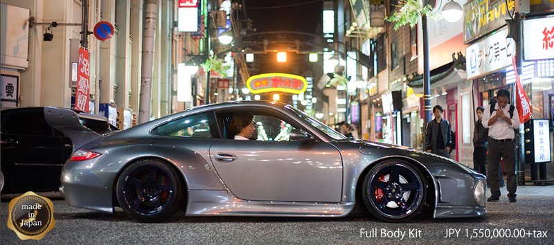 Bizarre Japanese Slant-Nose Porsche 997 Possibly Redeems SEMA, Humanity
