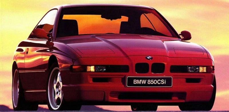 Illustration for article titled Go Back To 1994 With The BMW 850CSi