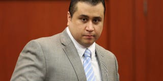 George Zimmerman at the closing arguments for his trial (pool/Getty Images)