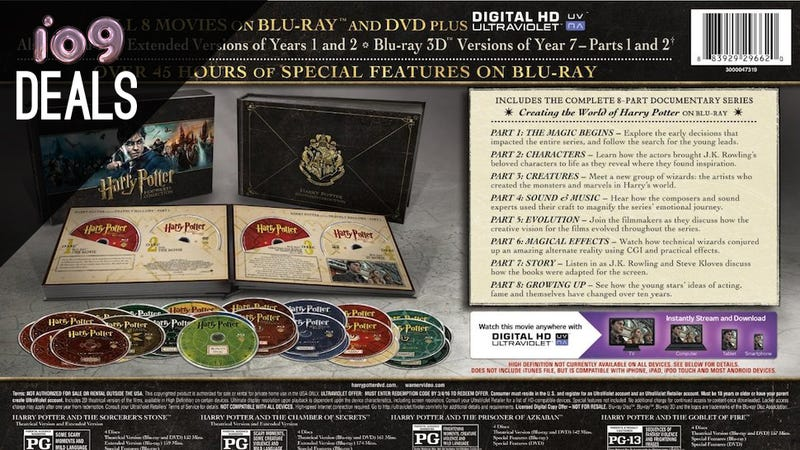 Illustration for article titled Harry Potter Hogwarts Collection, The Hunger Games, Friends [Deals]