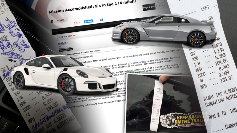 Illustration for article titled Porsche Driver Fakes Drag Race Timeslip, Gets Caught, Lies, And Boy Is It Painful To Watch
