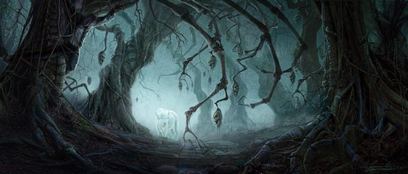 Illustration for article titled The First Creepy Concept Art From Starz's American Gods