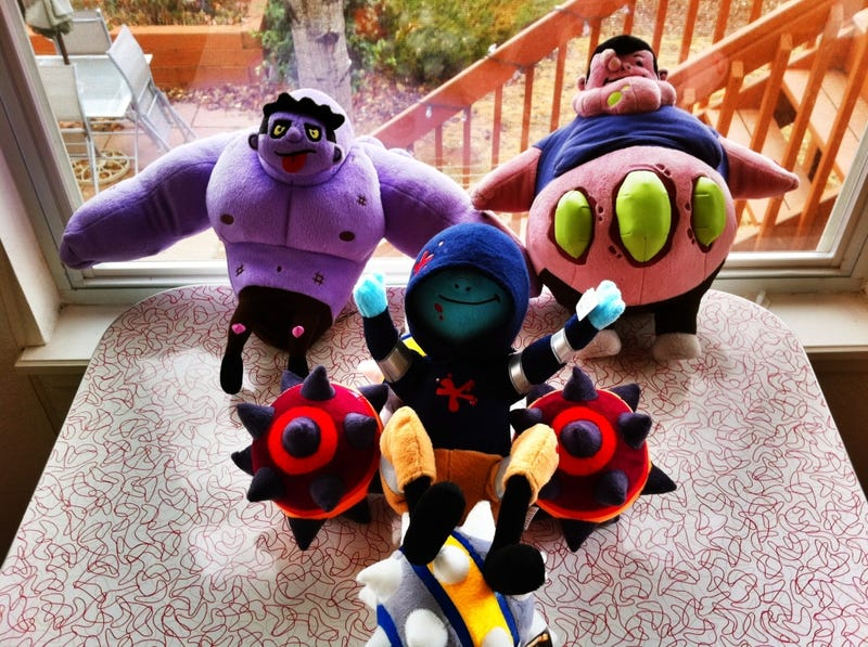 Illustration for article titled A Closer Look at the Left 4 Dead 2 Plush Zombies