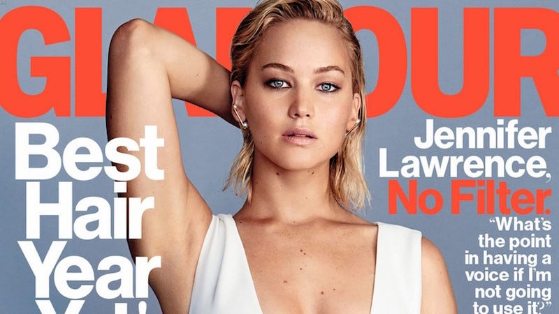 Illustration for article titled Jennifer Lawrence: 'I Am a Successful Woman Who Has Not Had a Pregnancy'