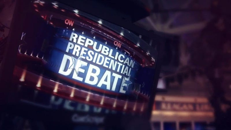 Illustration for article titled How to Stream Tonight's CNN Republican Debate Online, No Cable Required