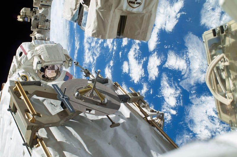 Illustration for article titled Así fue el último paseo espacial de los astronautas de la ISS