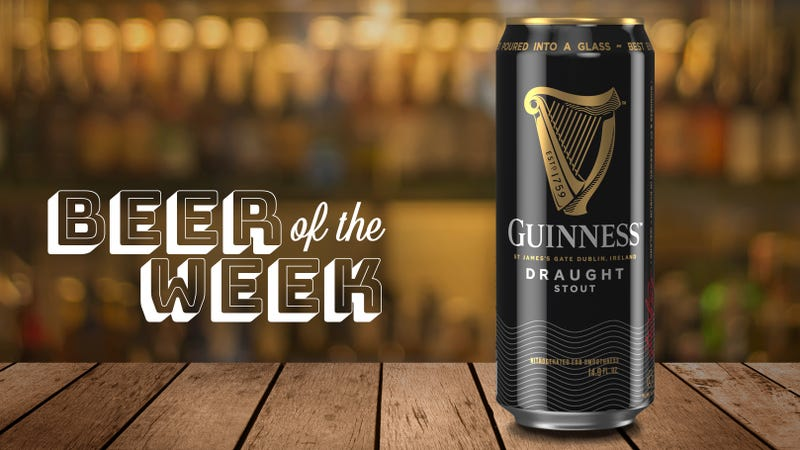 Illustration for article titled Beer Of The Week: Guinness Draught Stout