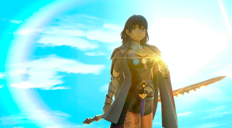 Illustration for article titled The Next Smash Bros. Character Is Fire Emblem's Byleth