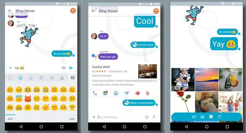 Illustration for article titled Mucho más que un chat: Allo es la aplicación de mensajería inteligente de Google