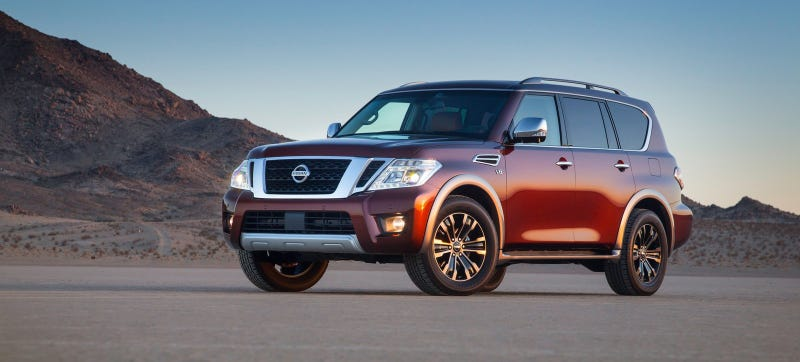 Illustration for article titled The 2017 Nissan Armada Is The Coolest Thing To Happen In The American Car Market In Ages