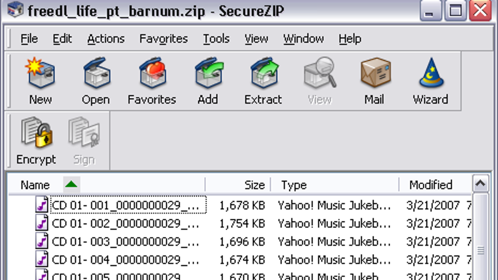 Download of the Day: SecureZIP (Windows)