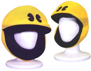 Illustration for article titled Pac-Man Balaclava Should Be Mandatory Streetwear for Everyone