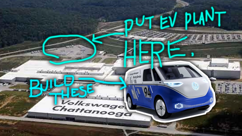 Volkswagen Chattanooga Jobs >> Volkswagen S Adding 1 000 American Jobs With A New Ev Plant