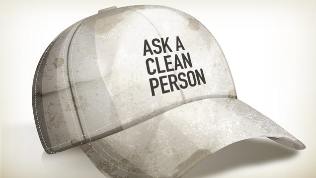 how to clean your filthy baseball cap