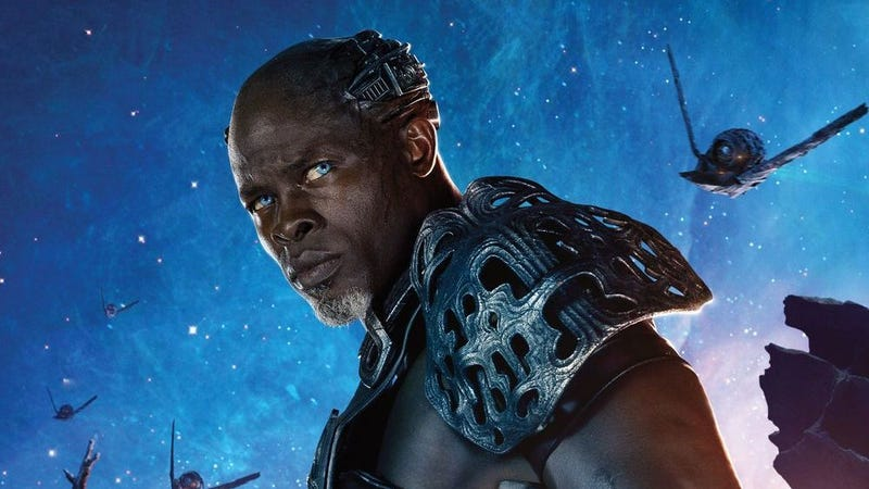 Djimon Hounsou as Korath the Pursuer in Guardians of the Galaxy Vol. 1.