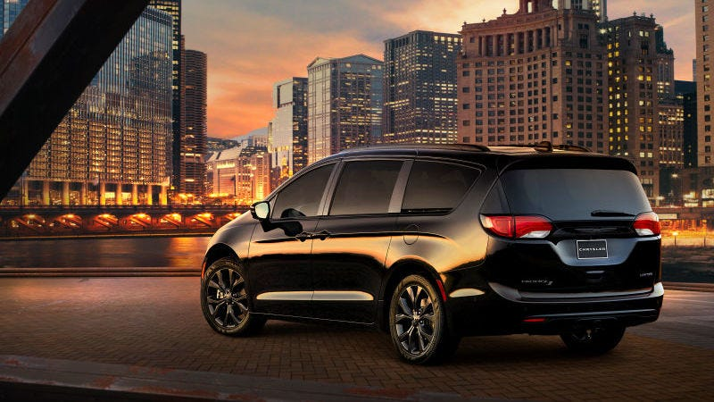 If Youre Going To Buy Chryslers New Murdered Out S Trim Of The Pacifica Because You Think It Will Make Or Your Family Cooler Are Mistaken