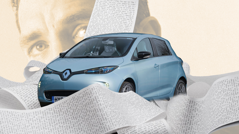 Illustration for article titled Renault Accurately Reads Consumer Demand, Builds Car That Writes Derivative Novels