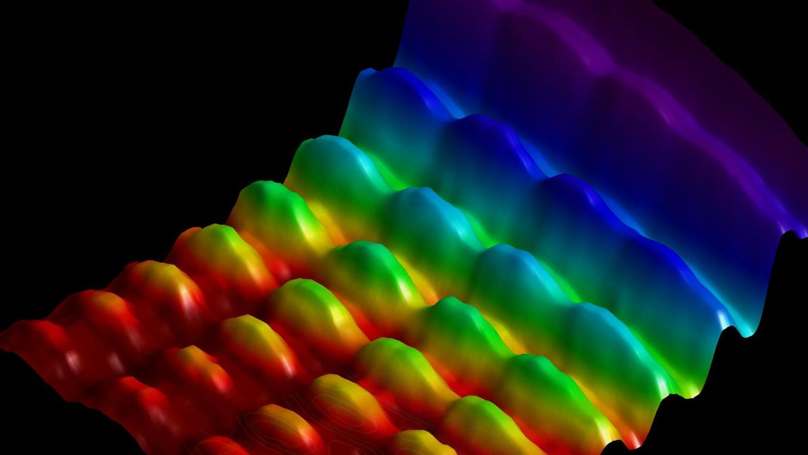 Logran fotografiar por primera vez la luz como onda y como partícula