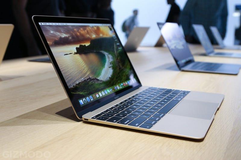 Illustration for article titled Probamos el nuevo MacBook: precioso y ligero, pero algo incómodo