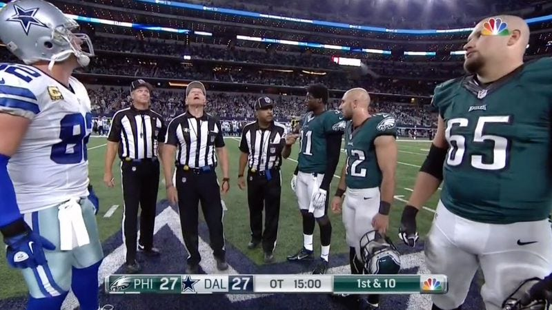 A coin toss creates the week s most pointless NFL controversy f7e7c2699