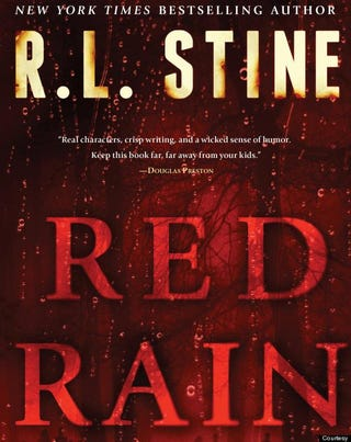 Illustration for article titled Red Rain, the New R. L. Stine Novel For Adults